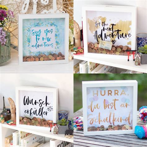 Money Box Frame Diy Designs