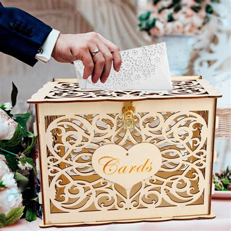 Money Box Wedding Diy Decor