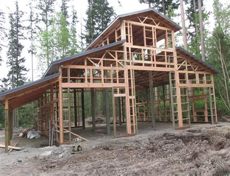 Monitor-Pole-Barn-House-Plans