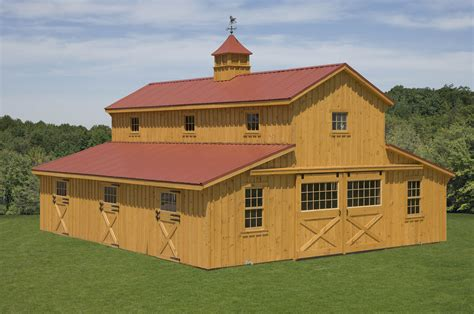 Monitor-Style-Horse-Barn-Plans
