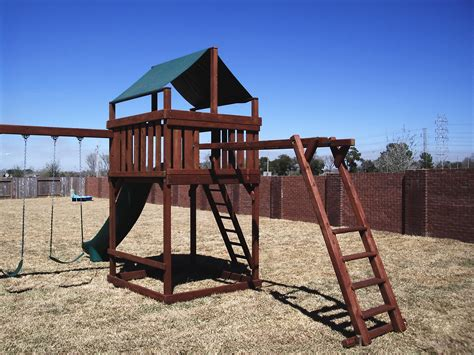 Monkey Bar Playset Plans