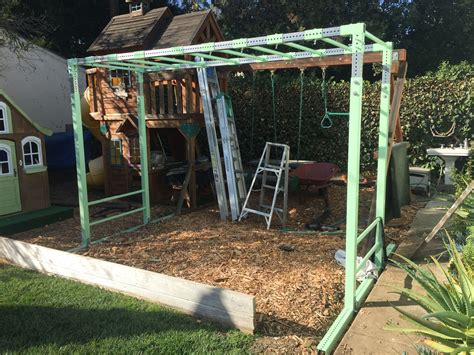Monkey Bar Storage Diy