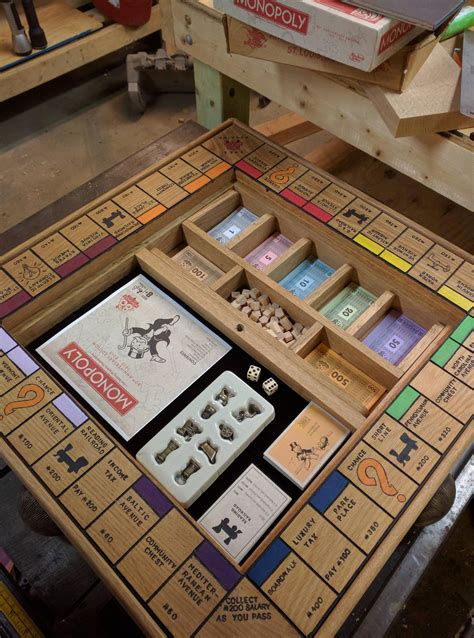 Monopoly Diy Table