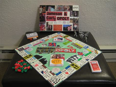 Monopoly Table Diy Design