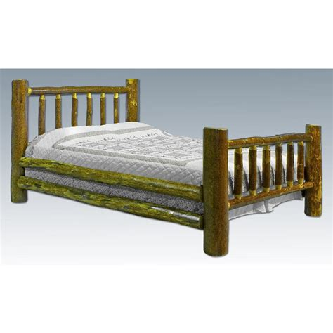 Montana-Woodworks-Glacier-Country-Log-Bed