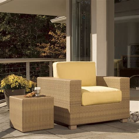 Montecito Patio Chair With Sunbrella Cushion