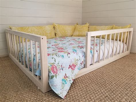 Montessori Bed With Rails Diy