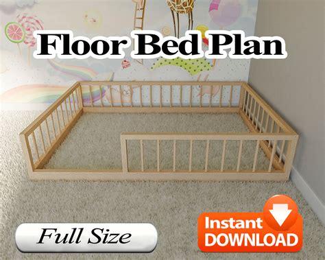 Montessori-Bed-Plans