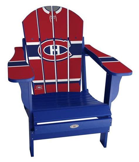 Montreal-Canadiens-Adirondack-Chair