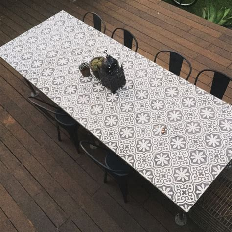 Moroccan Mosaic Tile Table Top Diy