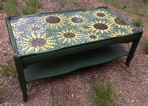 Mosaic Coffee Table Diy Pinterest