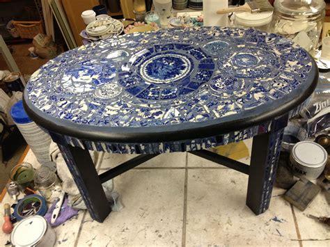 Mosaic Coffee Table Diy Projects