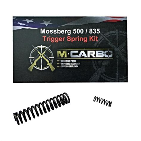 Mossberg 500 835 Maverick 88 Trigger Job - M Carbo.