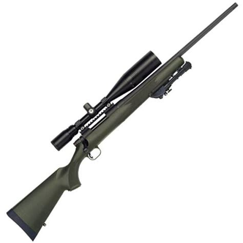 Mossberg 100 Atr 308 Winchester Bolt Action Rifle With Scope And Fn 308 Bolt Action Rifle