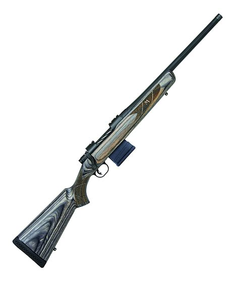 Mossberg Bolt Action 556 Rifle And Mossberg Zombie Lever Action Rifle