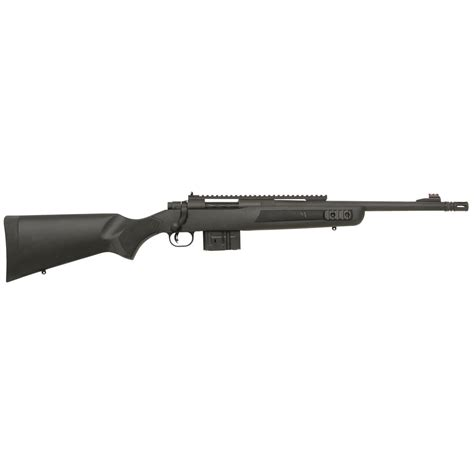 Mossberg Mvp 308 Bolt Action Rifle And Old Marlin 22 Bolt Action Rifle