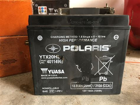 Motorcycle Battery Only A Year And Half Old And Bad