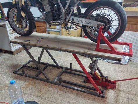 Motorcycle Lift Diy