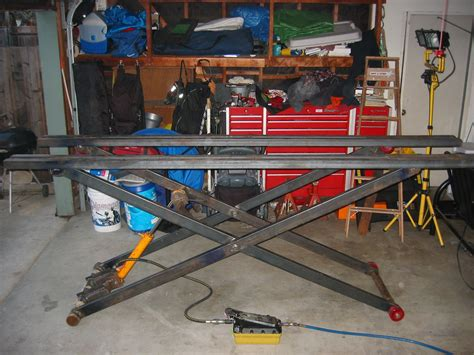 Motorcycle Lift Tables Plans