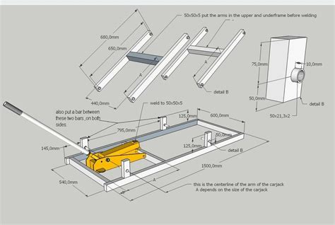 Motorcycle Table Lift Plans Pdf