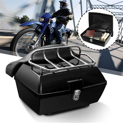 Motorcycle Top Case Luggage Rack DIY