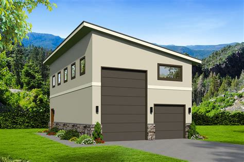 Motorhome Garage Floor Plans