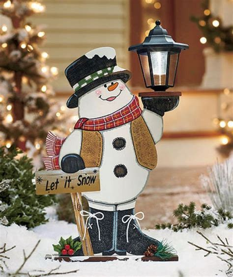 Motorized Christmas Yard Wood Decorations