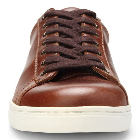 Mott Baldwin - Men's Leather Lace-up Shoe Dark Brown