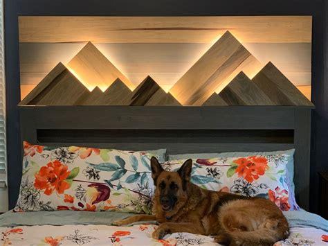 Mountain-Headboard-Plans
