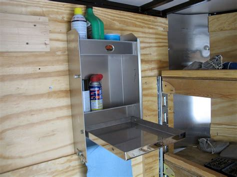 Mounting Kitchen Cabinets In Enclosed Trailer