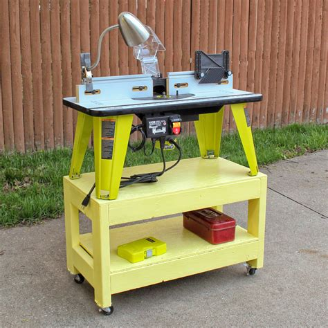 Mounting Ryobi Router To Table