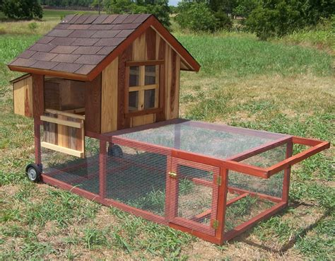 Movable Chicken Coop For 20 Chickens