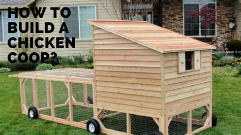 Movable Chicken Coop Plans Free