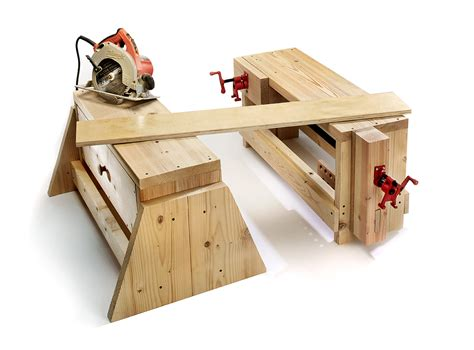 Moveable-Woodworking-Bench