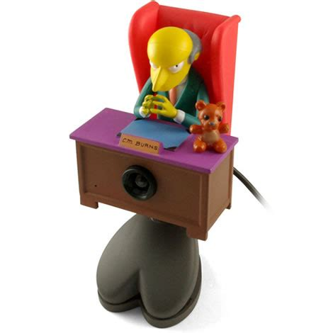 Mr. Burns USB Webcam & Microphone [Toy]