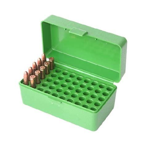 Mtm 50 Round Flip Top Rifle Ammo Box And Plano 50 Round Pistol Ammo Box
