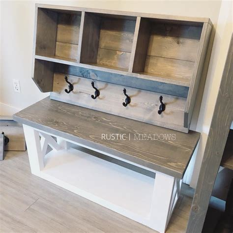 Mudroom Bench Plans 48