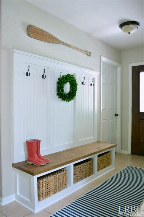 Mudroom Benches With Storage Diy Plans