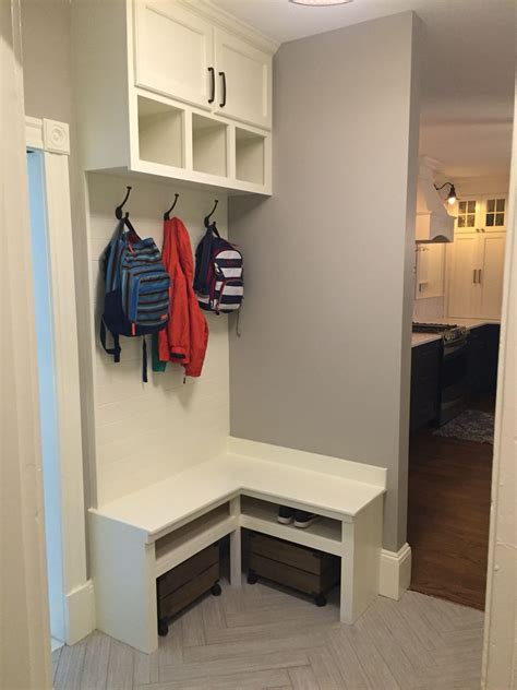 Mudroom Built In Diy Nook Storage