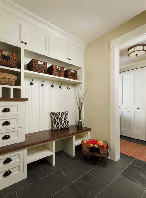 Mudroom Storage Design Ideas