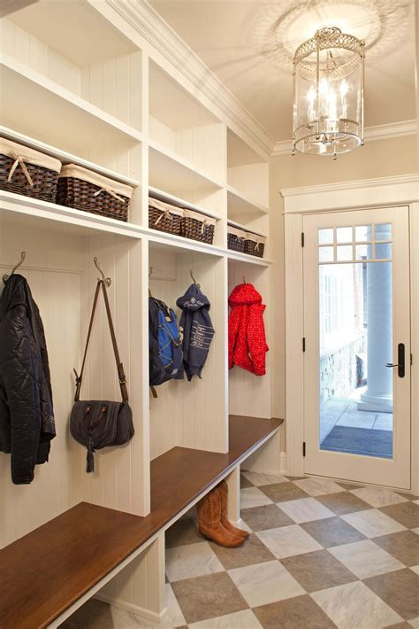 Mudroom Storage Locker Plans