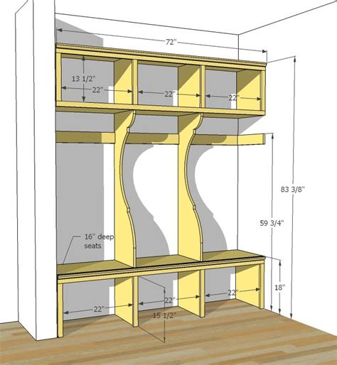 Mudroom-Furniture-Plans-Free