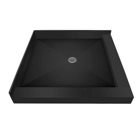 Muli Curb Shower Pan 48 X 48 Triple Threshold Shower Base By Tile Redi