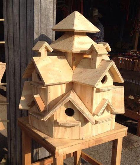 Multi-Level-Birdhouse-Plans
