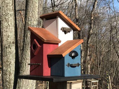 Multi-Unit-Birdhouse-Plans