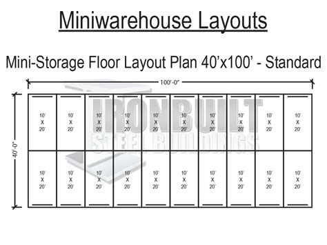 Multi-Unit-Storage-Building-Plans