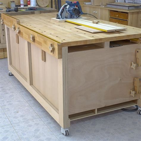 Multifunction Workbench Plans