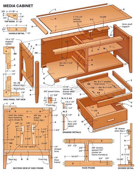 Multimedia-Cabinet-Plans