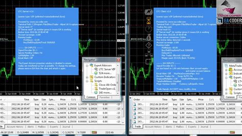 [click]multiple Trades Are Being Copied Using Local Trade Copier For Metatrader 4 By Ea Coder.