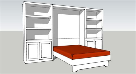 Murphy Bed Cabinet Plans Free Downloads